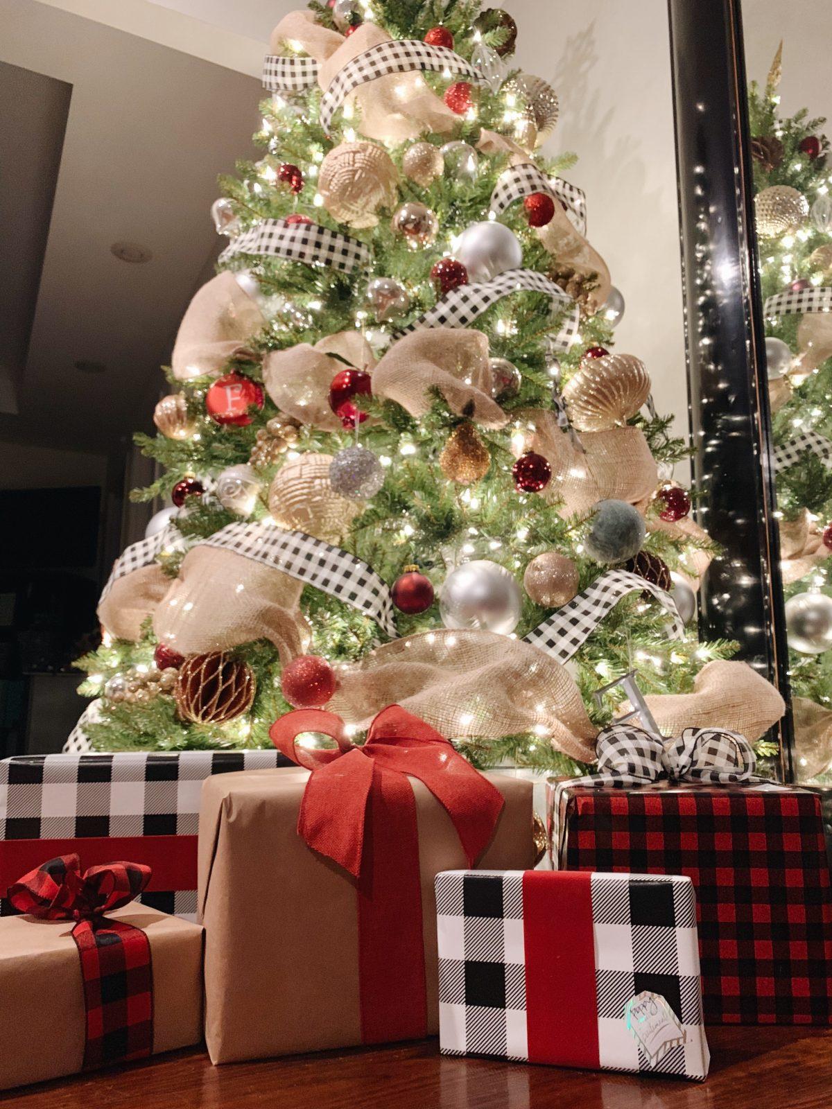 Black And White Buffalo Check Christmas Midwestern Mama