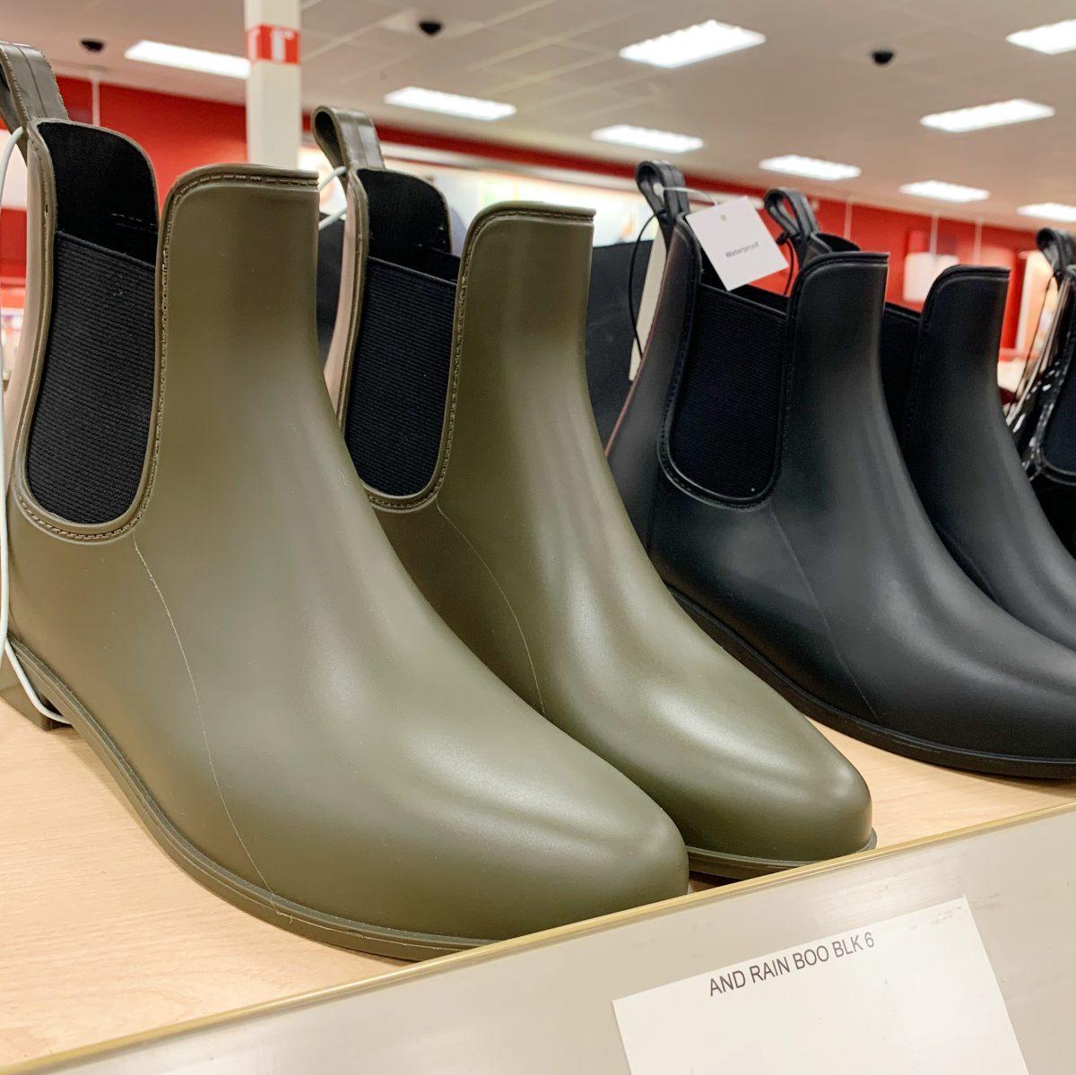 rubber rain booties